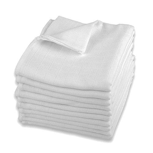 40 Stoffwindeln 100/% Baumwolle Spucktücher Mullwindeln Spucktuch 70x80 cm