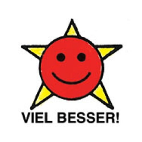 Center Enterprise CEJ9764'GERMAN VIEL BESSER' Jumbo Stamp