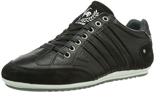 Le Coq Sportif Melun Low Herren Sneakers Schwarz (Black)