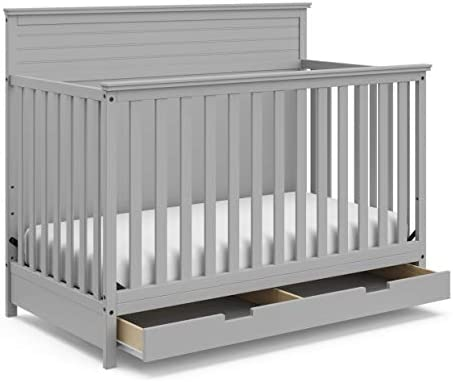 Storkcraft Solstice 4-in-1 Convertible Crib White Daybed - Easily Converts into Toddler Bed or Full-Size Bed