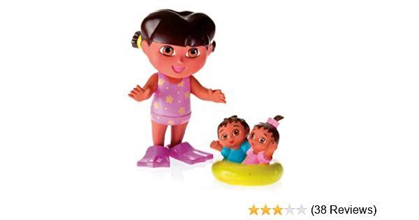 71420285dcaa6 Amazon.com: Fisher-Price Splash Around Dora and Twins: Toys & Games