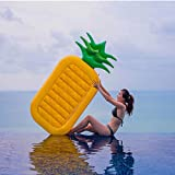 Inflatable Pineapple Pool Float Raft,Large Summer Outdoor Swimming Pool Inflatable Float Toy for Adults & Kids