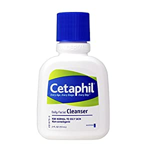 Cetaphil Daily Facial Cleanser for Normal To Oily Skin, 2 Ounce-12 Count