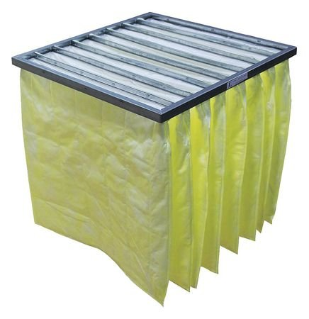 Synthetic Pocket Air Filter, 24x24x12'', MERV 14 (12 pieces)