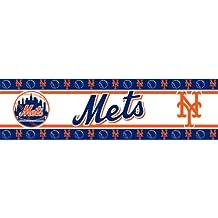 MLB Wallpaper Border MLB Team: New York Mets