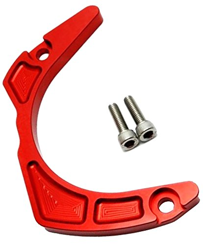 Raptor 700 - Yamaha Anodized Billet Crank Case Saver 2006-2018 Raptor 700 & 2009-2018 Raptor 700R (Red)