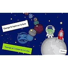 """Livre de naissance: """"George le lapin sur la lune"""":  (Conte, Adventures) (French Edition)"""