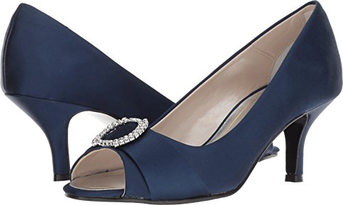 Caparros Women's Nohr Navy New Satin 8 C US