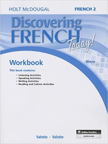 Discovering French Today Student Edition Workbook Level 2