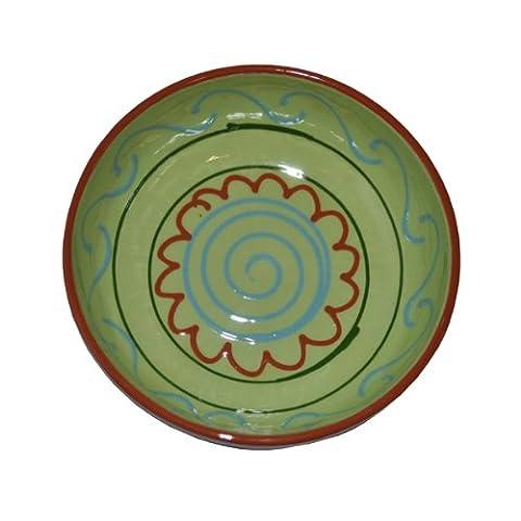 Naturally Med Ceramic Bowl / Individual Salad Bowl 5.5