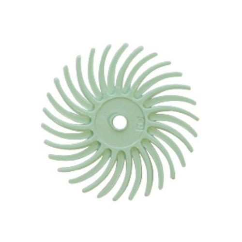 Radial Disc, Light Green, 3/4 Inch, Pack Of 12   BRS-580.90
