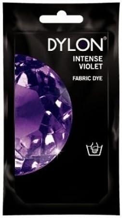 DYLON - Tinte textil, para teñir a mano, violeta intenso, 50 ...