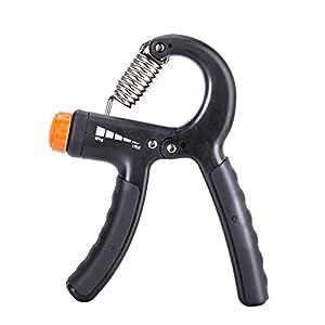 GHB Handtrainer Fingerhantel Krafttraining Fitness Fingertrainer 10 - 40 KG...