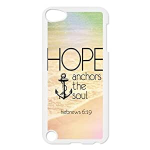 Vintage Retro Anchor Ipod Touch 5th Case Cover Hope Ahchors The Soul Hebrews 6 4.7:19 Quotes Water