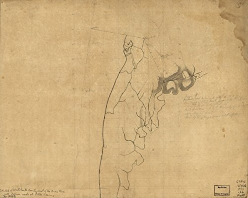 (1776 map Westchester County Coast, New Rochelle to Horseneck River: Unfinished|Size 20x24 - Ready to Frame| Coasts|New York|Westchester County|Westchester County NY)
