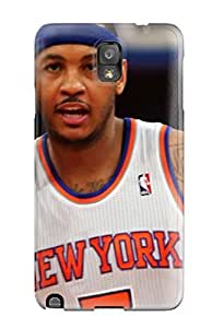 Durable Case For The Galaxy Note 3- Eco-friendly Retail Packaging(carmelo Anthony)