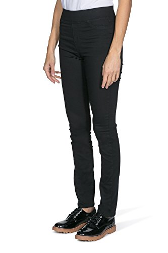 Femme Haute Italo Taille Jegging Jeans Black Black qIwAapw