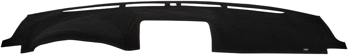 Covercraft DashMat UltiMat Dashboard Cover for Chevrolet and GMC - (Premium Carpet, Black) - 91718-00-25