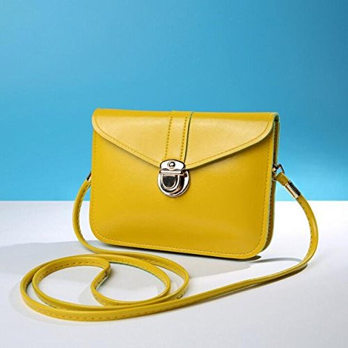 Sale Bag Yellow Zero Bag Messenger Phone Casual Certificate Crossbody Purse Handbag Bags Leather Shouder Messenger Coin Small Bag Bags Mini Shoulder Fashion Bag Single Bag Bag Purse Zycshang 5pfOqO