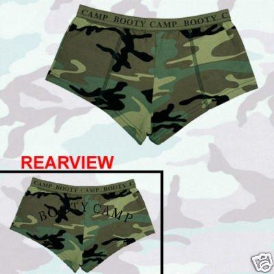 (Rothco Women's Booty Camp Booty Shorts, Camo, Small)