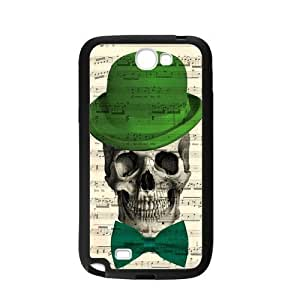 Handsome Skull Music Notes Personalized Custom For HTC One M9 Case Cover