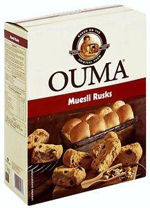 Ouma Muesli Rusks 1kg
