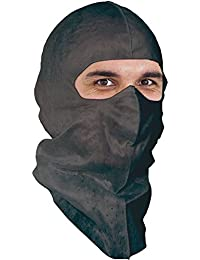 UV-Shield Black Soft-stretch Ninja Hood for Outdoor Work. $1.96 Ea, 6/pk