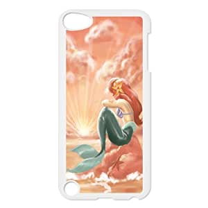 Hot case The little mermaid Hard Plastic phone Case Cover FOR Ipod Touch 5 XFZ393562
