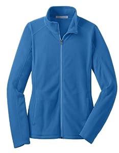 Port Authority L223 Ladies Microfleece Jacket - Light Royal - XL