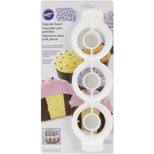 - Wilton 2105-0169 Two Tone Cupcake Insert