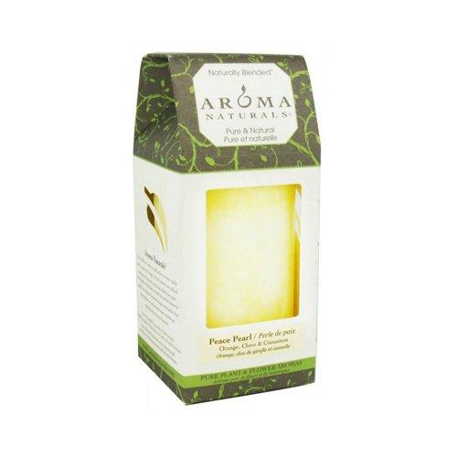 Peace Pearl 2.5 x (Aroma Naturals Pillar Candle)