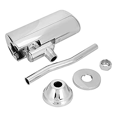 Brass Urinal Flush Valve Automatic Sensor Toilet Flush Valve Wall Mounted Touchless Urinal Flush Valve for Bathroom Toilet