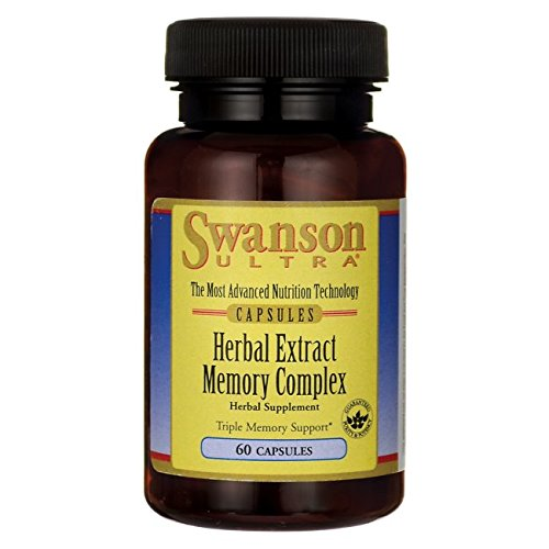Swanson Herbal Extract Memory Complex 60 Capsules