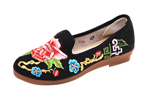 Plat Studio Fait Brod SK Main Femme Ballerines Loafer Jane Mary Traditionnelles UIdnOpwqgn