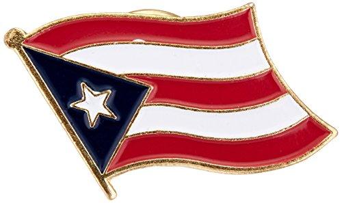 US Flag Store Puerto Rico Flag Lapel Pin ()