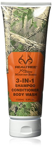 Realtree Mountain Series 3-in-1 for Him Shower Gel, 8.5 Ounce