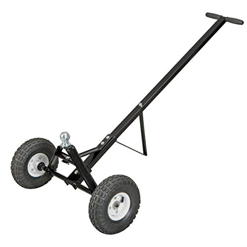600lb Heavy Duty Utility Trailer Dolly with Hitch Ball and 10
