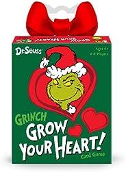 Funko Pop! Dr. Seuss - Grinch Grow Your Heart Card Game Multicolor 56324