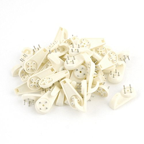 50-pcs-beige-wall-mount-non-mark-hooks-picture-photo-frame-hangers