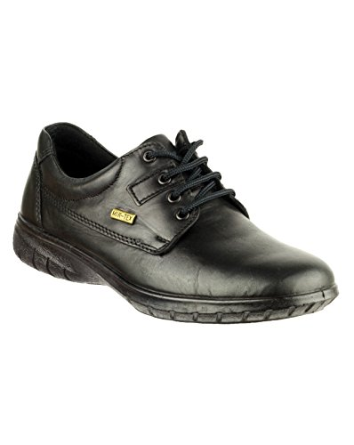 Negro Ruscombe Cotswold Zapatos Zapatillas Impermeable Cuero Mujer ggwYvq8