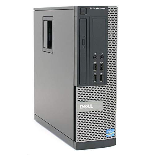 Dell Optiplex 7010 SFF Desktop PC - Intel Core i5-3470 3.2GHz 8GB 250GB DVD Windows 10 Pro (Renewed)