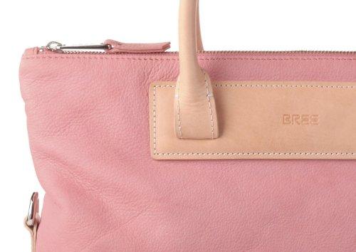 BREE, borsa a spalla, Brigitte 21 aighina Rosa (Pink/Nature (Rosa/Natur))