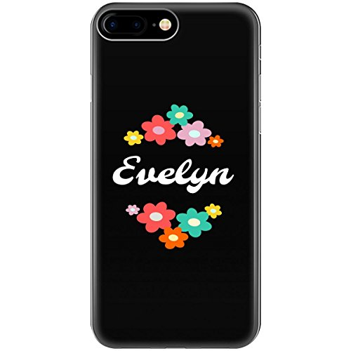 - Evelyn Personalized with The Name Evelyn - Phone Case Fits iPhone 6 6s 7 8