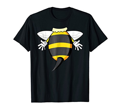Mens Funny Honeybee Costume Shirt - Hilarious Bee Halloween Gift XL (Adult Bee Keeper Costume)