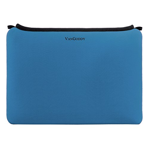 Samsung Galaxy Tab A/Galaxy Tab S2 9.7/Apple iPad Pro/Asus ZenPad 3S 10 Blue VanGoddy Neoprene Smart Case Tablet Carrying Sleeve - 10