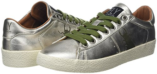 Donna Sneaker London anthracitegold Berg823fly Fly Argento Paqtw