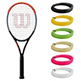 Wilson Clash 100 UL Tennis Racquet Strung with Synthetic Gut Racket String in Custom Colors (Light and Maneuverable for Easy Swings)