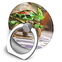 Dorothy Tacos Turtle Cell Phone Ring Holder Universal Smartphone Ring Grip Stand Car Mount 360 Rotation for iPhone, IPad, Samsung, HTC, Google Pixel, Nokia, LG