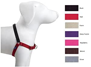 Premier Dog Nylon EASY WALK HARNESS Reduce Pulling Med/Large Fawn & Brown