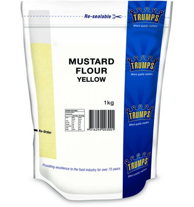 Trumps Yellow Mustard Flower 1kg (Trump Flower)